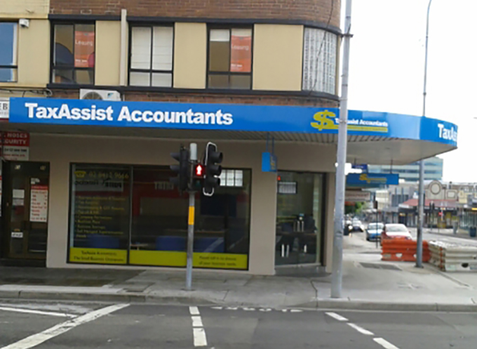 TaxAssist Shop Front